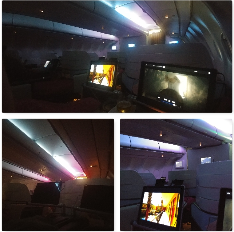 【ハワイアン航空・ビジネスクラス】ホノルル⇒羽田便搭乗レビュー!座席&機内食&クラブラウンジについて