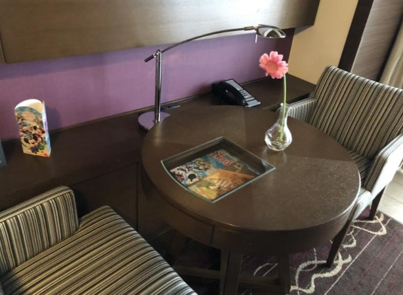 【東京ディズニーランド】おすすめホテル「シェラトングランデ東京ベイ」のチェックイン・クラブラウンジのお部屋の紹介!